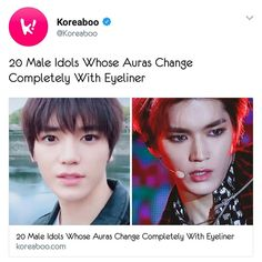 With or without eyeliner , he's still the best. Nct Dream Members, Nct U Members, Funny Kpop Memes, Dankest Memes, Dream Chaser, Lee Taeyong, Na Jaemin, Soyeon, Kpop Groups