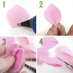 Como fazer Rosas em feltro passo a passo Neste tutorial você vai aprender como fazer rosas em feltro passo a passo