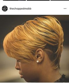 Short Sassy Hair, Short Hairstyles For Thick Hair, Haircut For Thick Hair, Short Hair Cuts, Short Hair Styles, Black Hairstyles, Thick Haircuts, Shaved Hairstyles, Casual Hairstyles