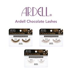 4f9c2217825 Ardell Chocolate Lashes at Louella Belle #Ardell #ChocolateLashes #Lashes # LouellaBelle Professional Nails