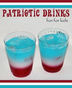 Make this fun patriotic drink this week for Fourth of July!