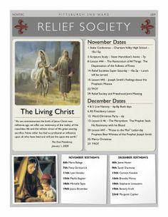 PGH2 Relief Society