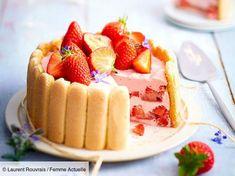 Charlottes faciles, rapides, et inratables : nos meilleures recettes Dessert Charlotte, Charlotte Au Fruit, Charlotte Cake, Easy Desserts, Dessert Recipes, Drink Recipe Book, Meringue Cake, Brunch, Beautiful Desserts