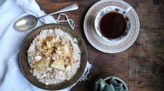 Spiced Feijoa and Apple Brown Rice Bircher - Petite Kitchen Kitchen Recipes, Cooking Recipes, Healthy Recipes, Healthy Meals, Yummy Recipes, Sweet Breakfast, Breakfast Recipes