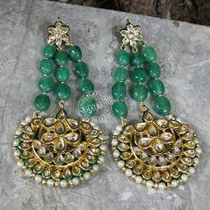 AADRIKA EARRINGS by Indiatrend. Shop Now at WWW.INDIATRENDSHOP.COM
