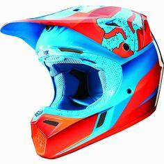 Sale on New Fox Racing Flight Men's Dirtbike Motorcycle Helmet 2015 - Motorhelmets Motocross Love, Motocross Girls, Motocross Helmets, Racing Helmets, Dirt Bike Riding Gear, Dirt Bike Helmets, Motorcycle Dirt Bike, Fox Helmets, Fox Racing Clothing