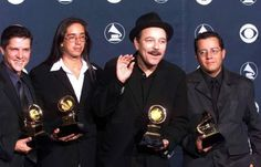 Costarrican grammy winners Editus with Ruben Blades