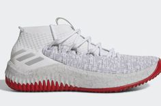 finest selection 79f01 3ce4e The adidas Dame 4 Rose City And Static Colorways Release On Friday