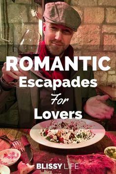 ROMANTIC Escapades For Lovers Romantic Escapes, Romantic Places, Romantic Dinners, Romantic Getaways, Romantic Travel, Travel Advice, Travel Tips, Travel Guides, Travel Goals
