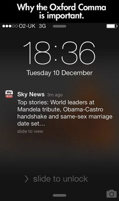 Why I stand by the Oxford comma