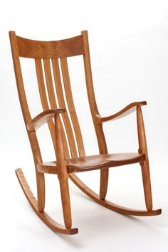 Rocking Chair Plans for Beginners Unique Handmade Rocking Chairs the Weeks Rocker Rocking Chair Plans, Wooden Rocking Chairs, Outdoor Rocking Chairs, Old Chairs, Deck Chairs, Eames Chairs, Adirondack Chairs, Dining Chairs, Buy Chair