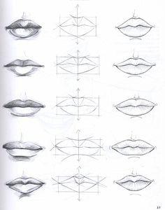 labbra disegno - Cerca con Google