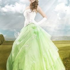 Today we're looking at sage green wedding dresses, the perfect choice for brides who decide to brave a colour. Green isn't a colour we generally associate with weddings, but it's becoming increasin… Light Wedding Dresses, Wedding Dress Cake, Elegant Wedding Dress, Perfect Wedding Dress, Ivory Wedding, Wedding Gowns, Dresser, Bridesmaid Dresses, Prom Dresses