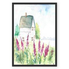 Poster Provence do Studio Dutearts por R$ 45,00