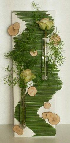 Juguetes de Bebé de Madera Natural Planta Scrapbooking Ornamento Adorno//flor//de la hierba