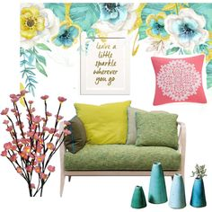 coloooor by maritpolaris on Polyvore featuring polyvore interior interiors interior design home home decor interior decorating Echo Dot & Bo Ercol