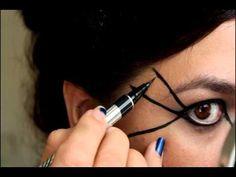 Spiderweb Makeup Tutorial