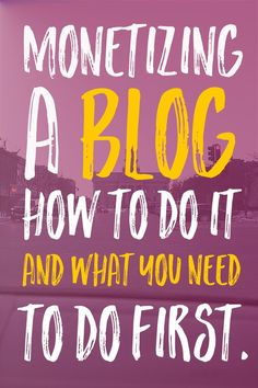 Any blogger can make money if they are willing to put in the work and the time. It's not easy, but it's nowhere near impossible, either. It took me five months to monetize my first blog, but if I were to do it over again with monetizing as my goal I could do it in a few weeks and you can, too! | Blogging For Profit