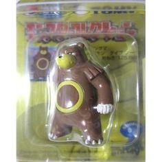 "Pokemon 2004 Ursaring Tomy 2"" Monster Collection Plastic Figure #217"