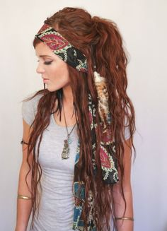 Junk Gypsy style...if I could dress like this and still have a job...I'd do it.