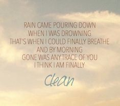 Taylor Swift - Clean