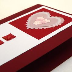 Greeting Card Soft Pink Valentine Wedding Heart with by cyberwezz