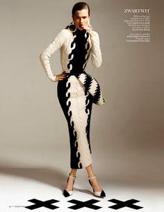 Fashion Forward: Kasia Struss By Philippe Vogelenzang For Vogue Netherlands August 2013