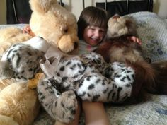 From Charlie Bears collector - Samantha Durrell (daughter in picture)