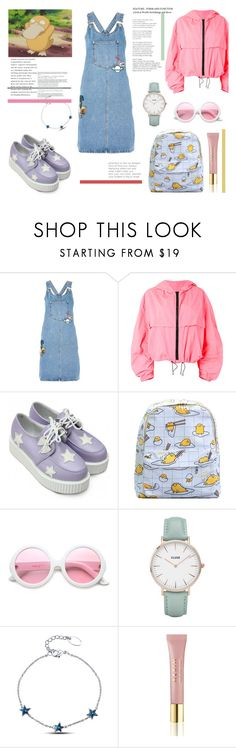 """""""Cute Pokemon"""" by blackyogurtgirl ❤ liked on Polyvore featuring Topshop, MSGM, Retrò, ZeroUV, CLUSE and AERIN"""