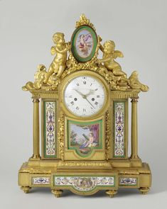 Mantel clock (pendule), Louis Montjoye, Charles Nicolas Dodin, Jean-Jacques Pierre, c. 1781 - c. 1782