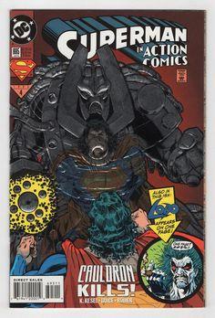 superman in action comics cauldron kills Dc Comic Books, Comic Book Covers, Toy Sale, Superman, Dc Comics, Jackson, Marvel, Manga, Halloween
