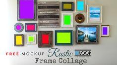 FREE Photoshop Frame Mockup