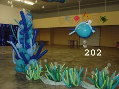 how to make coral reef centerpieces - Google Search