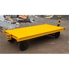 We are manufacturing, exporting and supplying a precision engineered collection of #PlatformTrolley.   Features:-     Long service life     High load bearing capacity     Remarkable lifting speed     Smooth operation