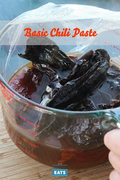 A flavorful chili paste that can replace your dried ground chili powder.