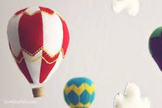 como hacer un globo aerostatico de goma eva - Buscar con Google