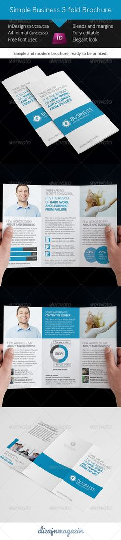 Simple Clean 3-Fold Brochure