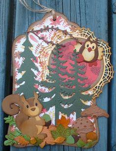 Creaties van Hetty: herfstlabel