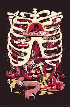 "Morty is trapped in a dead man. This poster from Rick And Morty has an image inspired by the ""Anatomy Park"" episode. We All Mad Here, Anatomy Park, Ricky Y Morty, Rick And Morty Poster, Drawing Faces, Art Drawings, Pencil Drawings, Cartoon Wallpaper, Smile Wallpaper"