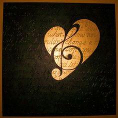 Music makes my heart beat