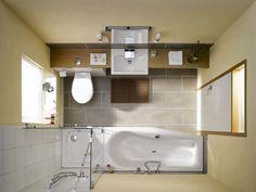 Kleine Bäder, Minibäder, Kleine Badezimmer Unter 4m² | Home ... Kleines Badezimmer Planen