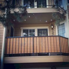 Bamboo blinds for balcony privacy genius Darian and Kyle! 2019 Bamboo blinds for balcony privacy genius Darian and Kyle! The post Bamboo blinds for balcony privacy genius Darian and Kyle! 2019 appeared first on Patio Diy. Apartment Deck, Apartment Balcony Decorating, Apartment Balconies, Cool Apartments, Apartment Living, Living Room, Balcony Privacy Screen, Balcony Railing, Privacy Blinds