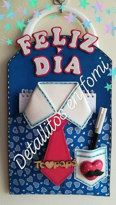 put a party favor blowing thing in for craft! Foam Crafts, Crafts To Make, Crafts For Kids, Paper Crafts, Classroom Birthday, Photo Frame Design, Best Dad Gifts, Dad Day, Fathers Day Crafts