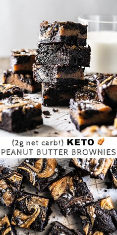 Gluten Free & Keto Peanut Butter Brownies You are in the right place about Gluten Free tips Here we offer you the most beautiful pictures about the Gluten Free beer you are looking for. When you examine the Gluten Free & Keto Peanut Butter Brownies … Keto Desserts, Keto Friendly Desserts, Gluten Free Desserts, Keto Snacks, Keto Recipes, Dessert Recipes, Chili Recipes, Dinner Recipes, Keto Brownies