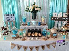 Tiffany Sweets & Lolly Buffet