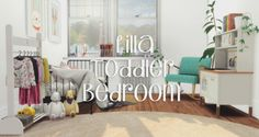 Lilla Toddler Bedroom at Pyszny Design • Sims 4 Updates