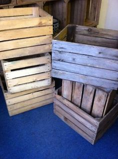 Measurements are wide, long and 30 cm high. Weight - average of each. Pallet of 12 for Apple Crates, Wooden Crates, Baby Items, Pallet, Coupons, Stuff To Buy, Ebay, Wood Boxes, Shed Base