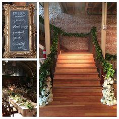 Restoration hardware inspired wedding http://www.parisianflorals.com emanuela candrianu floral design