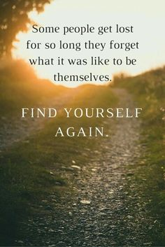 Focus on others but don't forget yourself