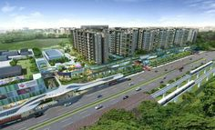 The Visionaire EC is a new launch EC by Qingjian Realty.